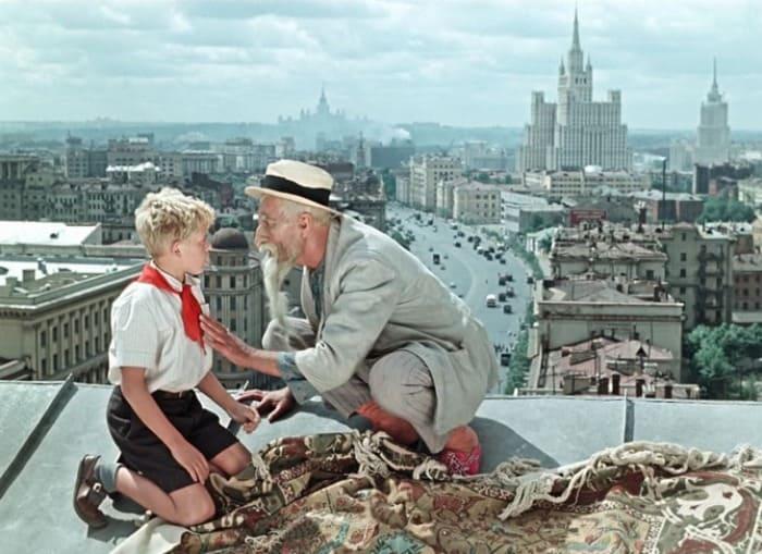 Кадр из фильма *Старик Хоттабыч*, 1956 | Фото: kinoistoria.ru
