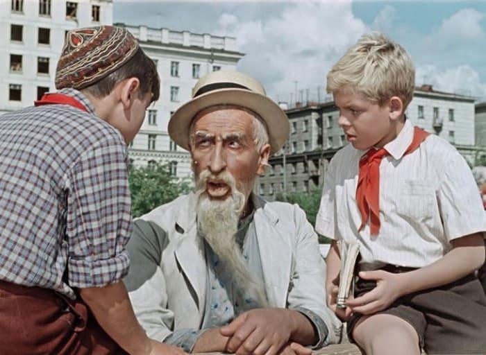 Кадр из фильма *Старик Хоттабыч*, 1956 | Фото: shkolazhizni.ru