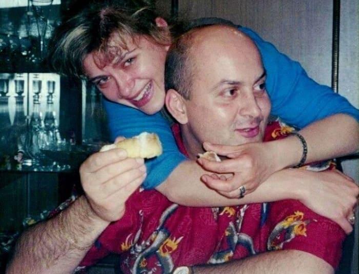 Вячеслав Гришечкин с женой Анной | Фото: pic-words.com