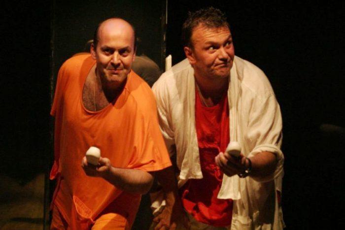 Вячеслав Гришечкин на сцене театра | Фото: biographe.ru