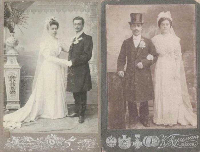 Свадебные фотографии к. XIX – н. ХХ вв. | Фото: liveinternet.ru