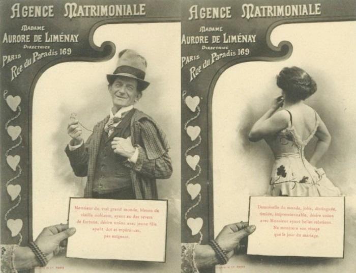 Объявления французского брачного агентства | Фото: diletant.media