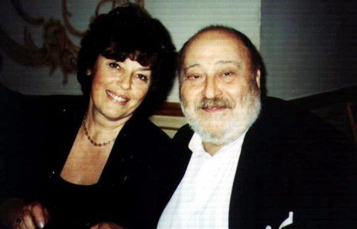 Георгий Вайнер с женой Александрой | Фото: peoples.ru