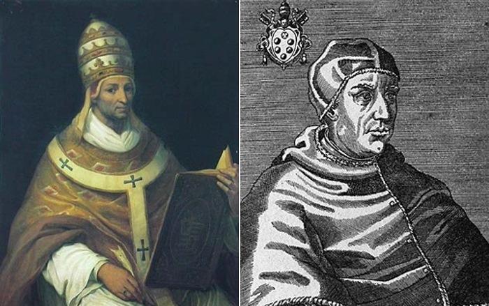 Папа Иоанн XXII торговал индульгенциями, а Папа Лев Х отпускал за деньги грехи убийцам