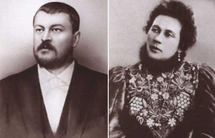 Савва Тимофеевич Морозов и его супруга, Зинаида Григорьевна  | Фото: coollib.xyz