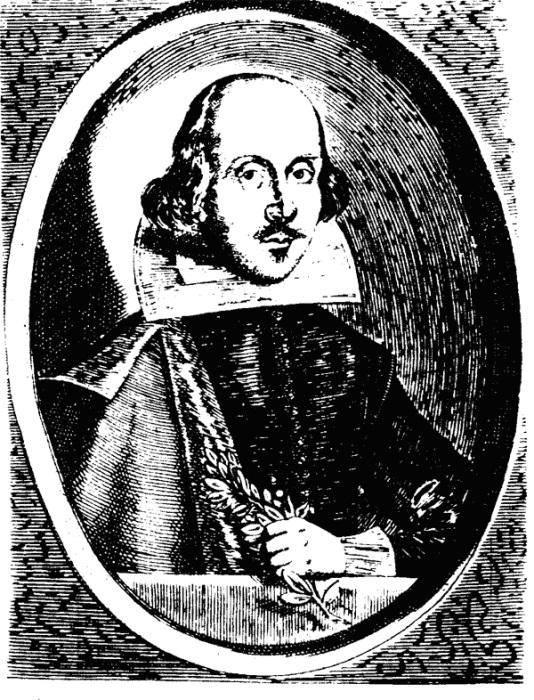 Уильям Шекспир. Гравюра 1640 г.