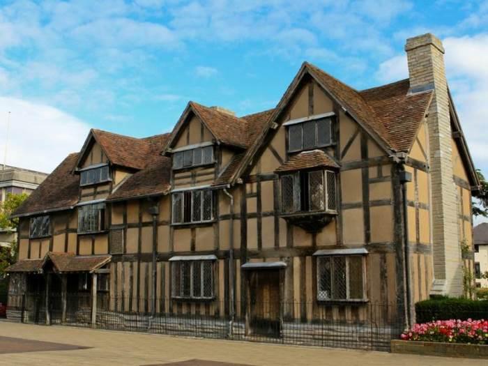Дом-музей Шекспира в Стратфорде-на-Эйвоне