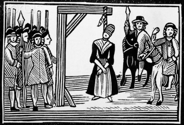 Казнь ведьм в Англии