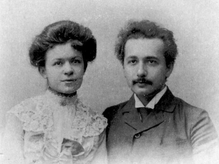 Свадебное фото с Милевой, 1903 | Фото: photochronograph.ru