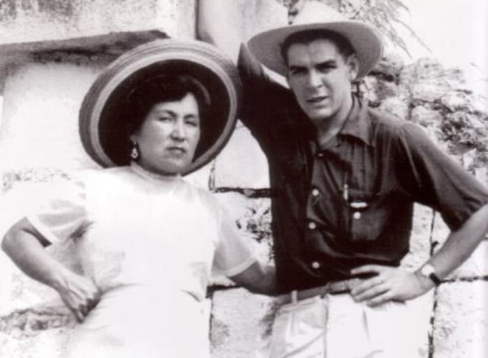 Эрнесто Гевара и его первая жена Ильда Гадеа | Фото: persons-info.com