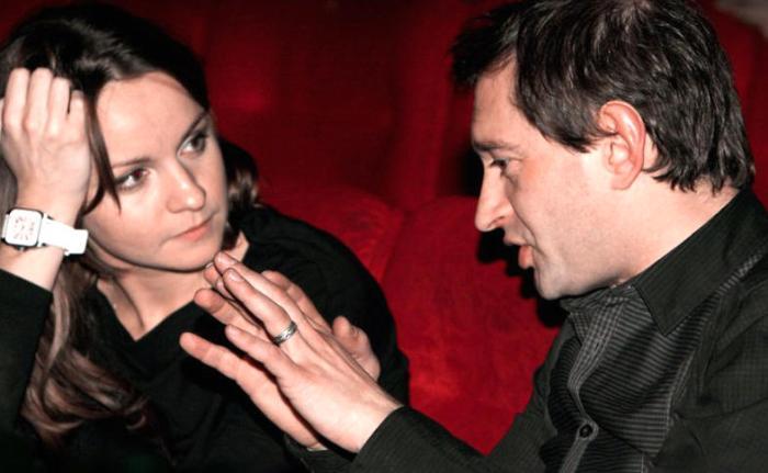 Константин Хабенский и Ольга Литвинова | Фото: 7days.ru