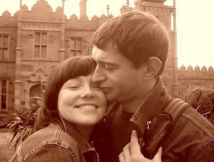 Актер с первой женой | Фото: pressa.tv