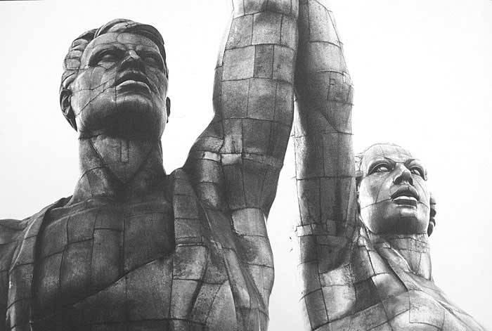 Рабочая модель скульптуры | Фото: vivovoco.ibmh.msk.su