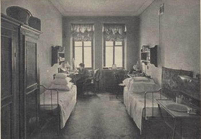 Комнаты совместного проживания бестужевских Высших женских курсов | Фото: propaganda-journal.net