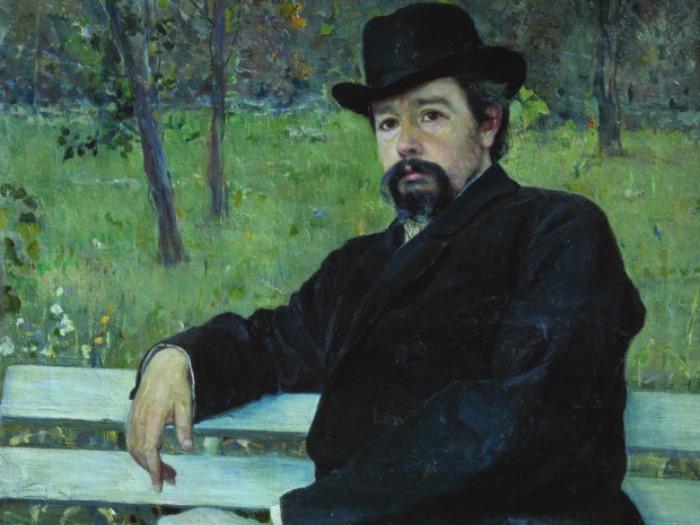 М. Нестеров. Портрет Н. Ярошенко, 1897. Фрагмент