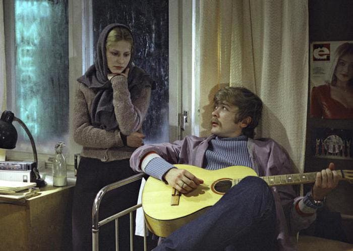 Анна Каменкова и Сергей Проханов в фильме *Молодая жена*, 1978 | Фото: autogear.ru