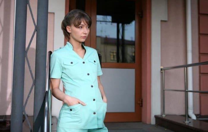 Юлия Маврина в сериале *Территория красоты*, 2009 | Фото: kino-teatr.ru
