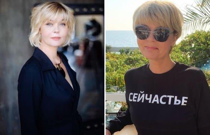 Актриса и телеведущая Юлия Меньшова | Фото: biographe.ru, goodhouse.ru