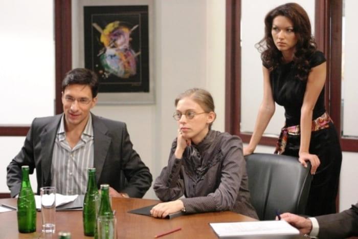 Кадр из сериала *Не родись красивой*, 2005 | Фото: 2aktera.ru