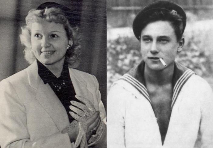 Муза Крепкогорская и Георгий Юматов | Фото: liveinternet.ru