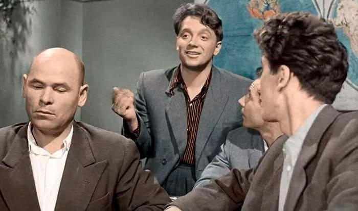 Юрий Белов в фильме *Весна на Заречной улице*, 1956   Фото: kino-teatr.ru