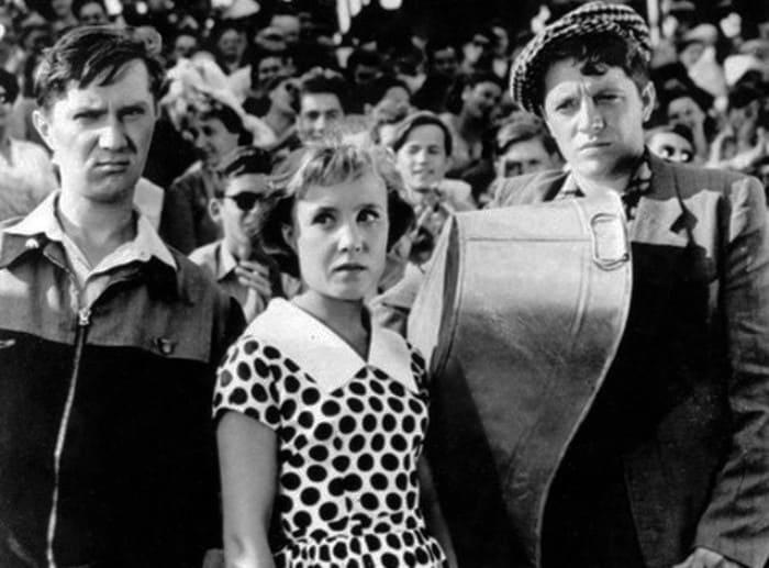 Кадр из фильма *Неподдающиеся*, 1959   Фото: ygashae-zvezdu.livejournal.com