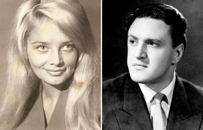 Юрий Чулюкин и его первая жена Наталья Кустинская   Фото: kino-teatr.ru