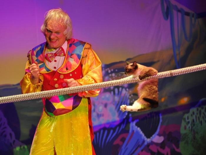 Юрий Куклачев во время выступления | Фото: udivitelno.com