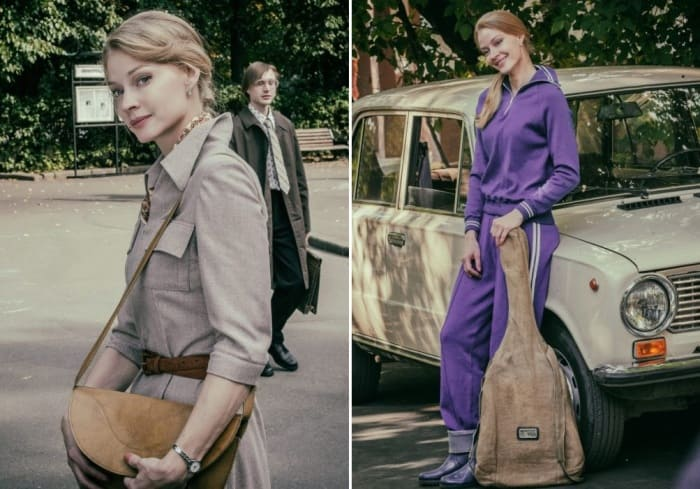 Светлана Ходченкова на съемках сериала *Казанова*, 2020 | Фото: vokrug.tv