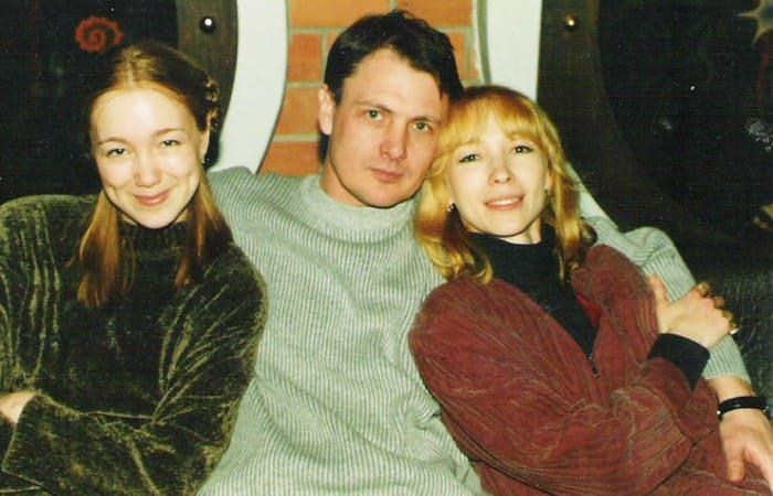 Супруги с дочерью Дашей | Фото: starhit.ru