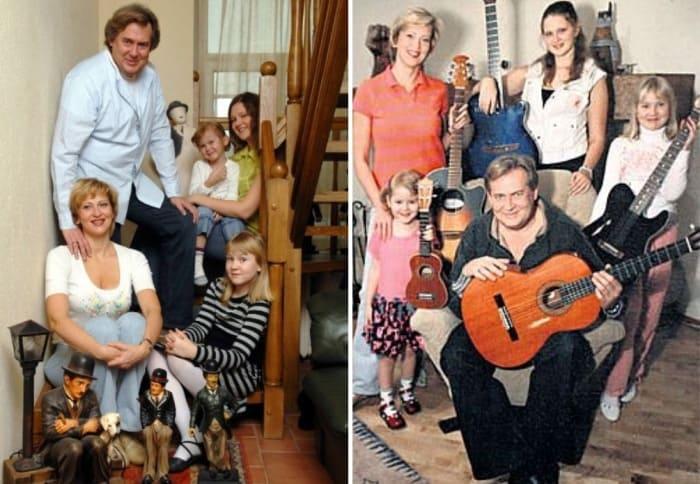 Артист с семьей | Фото: bulvar.com.ua, starhit.ru
