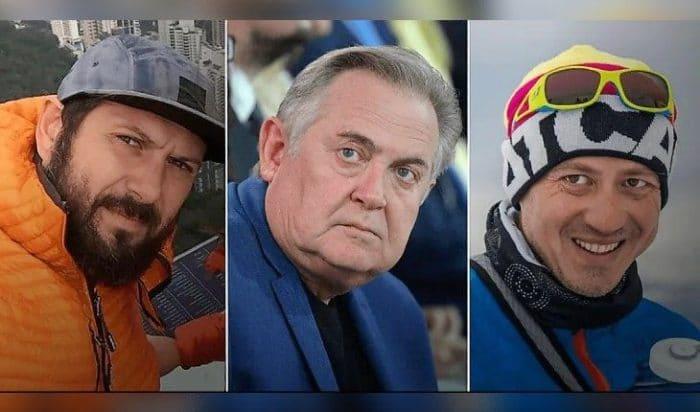 Юрий Стоянов и его сыновья, которые носят фамилию отчима   Фото: uznayvse.ru
