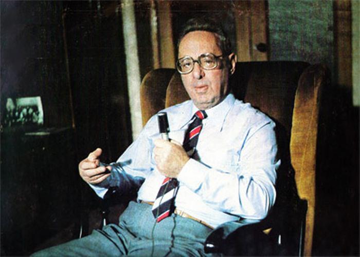 Самый известный диктор в СССР Юрий Левитан | Фото: retroportal.ru