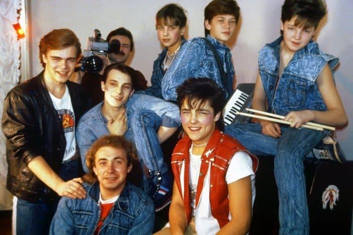 Юрий Шатунов и группа *Ласковый май* | Фото: rg.ru