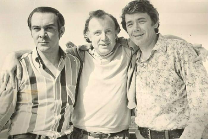 Муслим Магомаев, Иннокентий Смоктуновский и Юрий Гуляев | Фото: 24smi.org