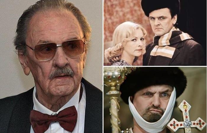 Один из самых популярных советских актеров Юрий Яковлев | Фото: kino-teatr.ru и teleprogramma.pro