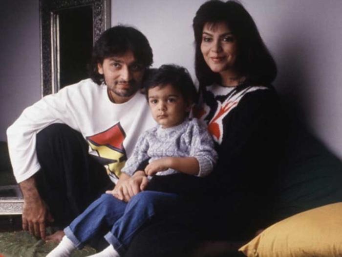 Актриса со вторым мужем и сыном | Фото: kinoistoria.ru