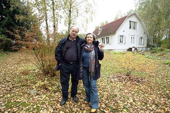 Актриса с мужем, Николаем Губенко | Фото: kino-teatr.ru