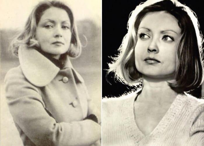 Одна из самых красивых советских актрис | Фото: kinoafisha.ua и kino-teatr.ru