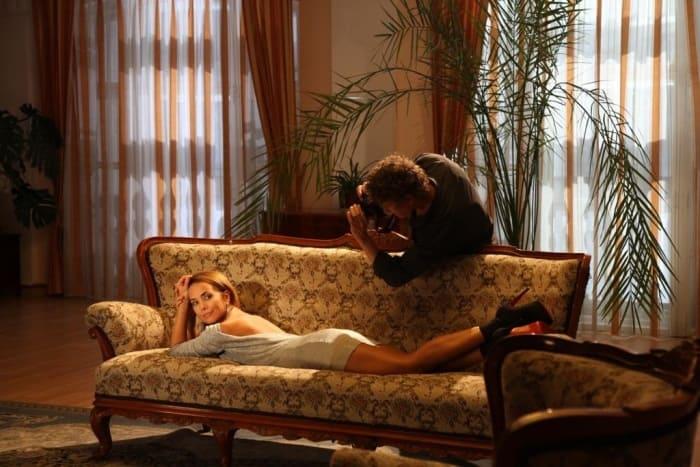 На съемках фильма *Кто я?*, 2010 | Фото: vokrug.tv