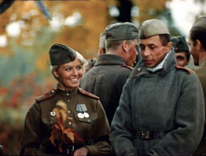 Кадр из фильма *Женя, Женечка и *Катюша*, 1967 | Фото: tvc.ru