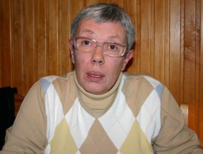Дочь Георгия Жженова и Лидии Воронцовой Елена в 2005 г. | Фото: k-markarian.livejournal.com