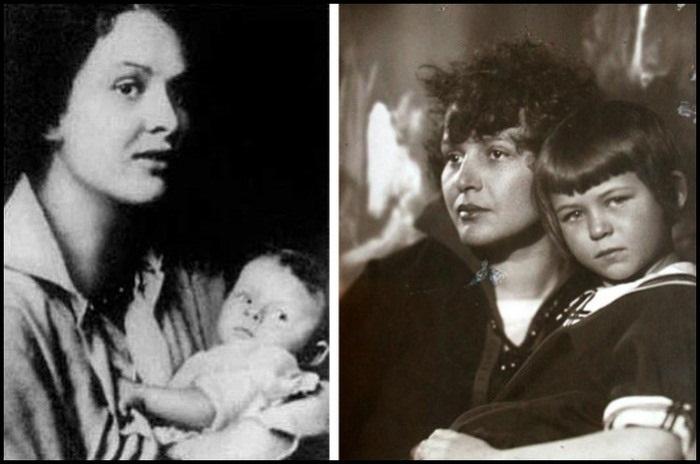 У Сергея Есенина и Зинаиды Райх было двое детей