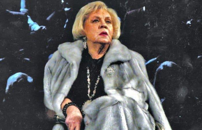 Народная артистка РСФСР Зинаида Шарко   Фото: teatral-online.ru