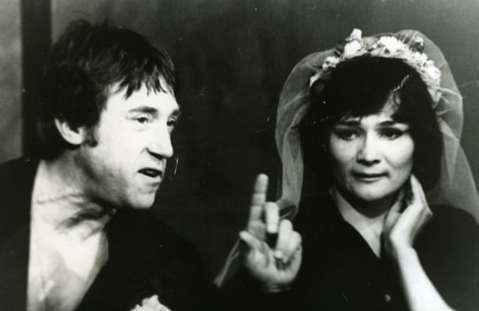 Зинаида Славина и Владимир Высоцкий | Фото: portal-kultura.ru