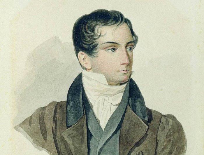 П. Соколов. Портрет Д. Веневитинова, 1827 | Фото: dekabrist.mybb.ru