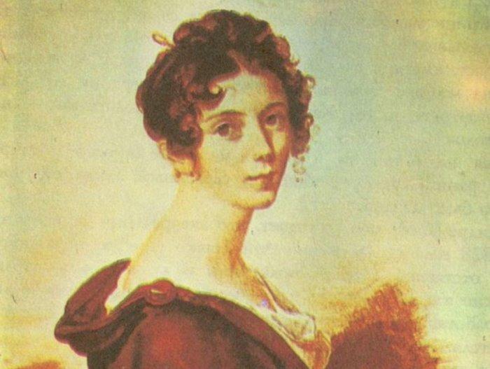 Л. Берже. Зинаида Волконская, 1828 | Фото: liveinternet.ru