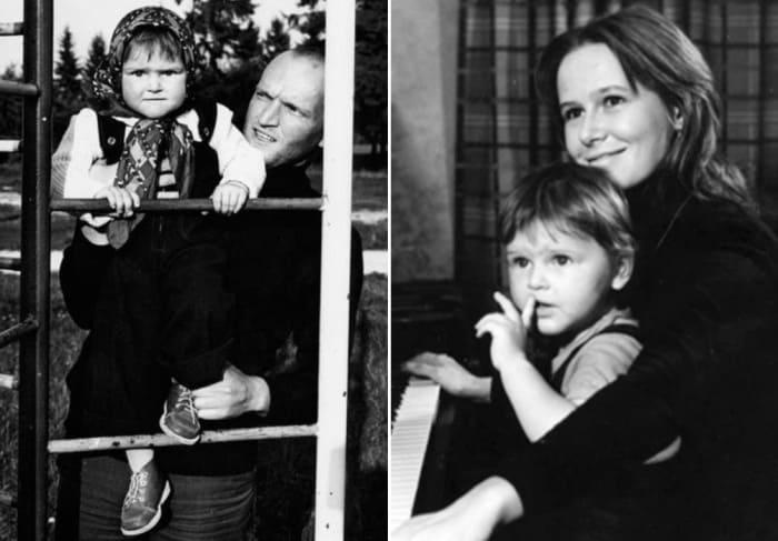 Зоя в детстве с родителями | Фото: wellnesso.ru, womanhit.ru