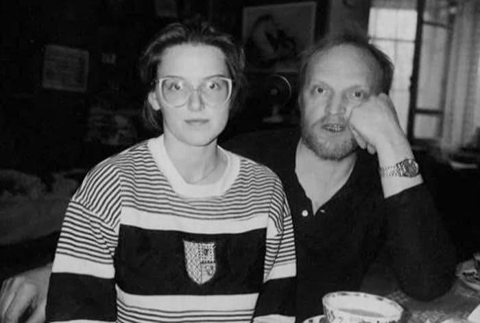 Зоя Кайдановская с отцом | Фото: stuki-druki.com