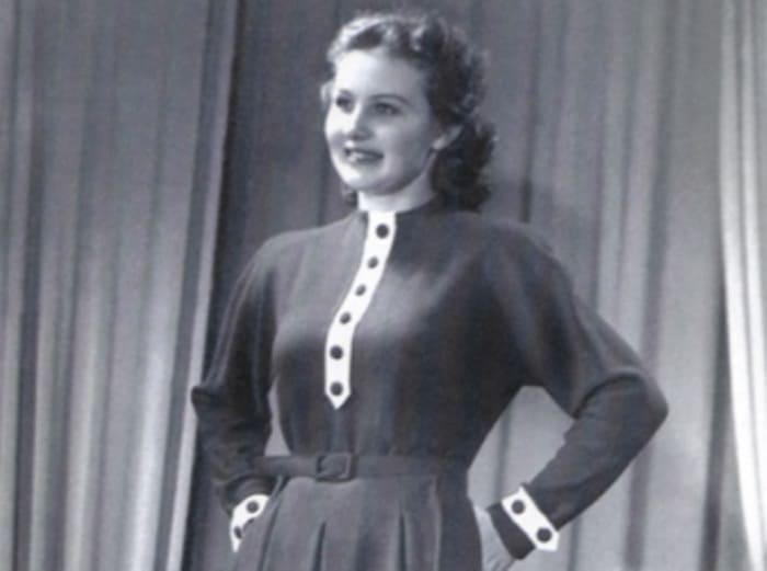В юности Зоя Зелинская была манекенщицей | Фото: kino-teatr.ru